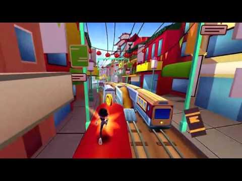 Subway Surfers Trailer- Google Play.