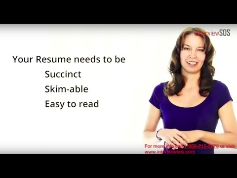 Resume Writing and Consulting Service from Interview SOS