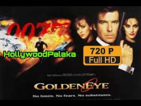 Golden Eye 1995 -  Pierce Brosnan, Sean Bean, Izabella Scorupco - MOVIE HD
