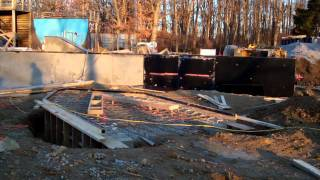Construction Update #6: Veterans Skatepark 1/15/12 - Woodbridge, Va - Thunderwood