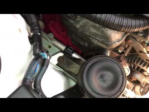 how to change alternator belt on a toyota yaris and many others 2007 Toyota Yaris Body Electrical Diagram