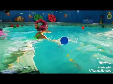 """Детский бассейн """"Барабулька"""" грудничков плавание для детей"""