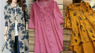 Long Top | Top With Jeans | Crop Top | kurti with Jeans