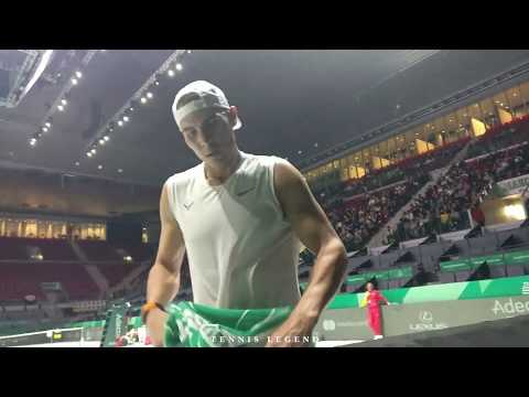 Davis Cup Finals 2019 : Nadal - Bautista Agut practice points (Closer than you've ever been)