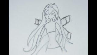 Как нарисовать Блум(Блум главная героиня сериала Winx Club.По сериалу она является основательницей Винкс Клуба. Согласно задумке..., 2013-10-22T16:40:34.000Z)