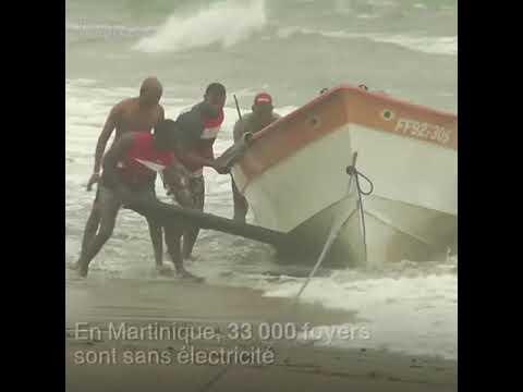 L'ouragan Maria s'abat sur la Guadeloupe