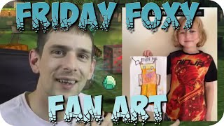 Friday Foxy Fan Art Subscribers Showcase
