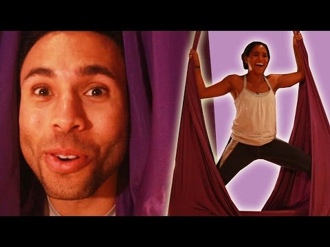 Thumbnail: Fitness Trainers Get Their Asses Kicked By Aerial Yoga