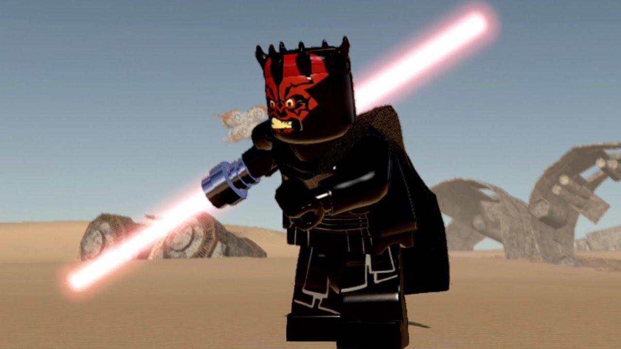 LEGO Star Wars: The Force Awakens - Darth Maul | Free Roam ...