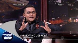 Komentator Bola Valentino Jebret