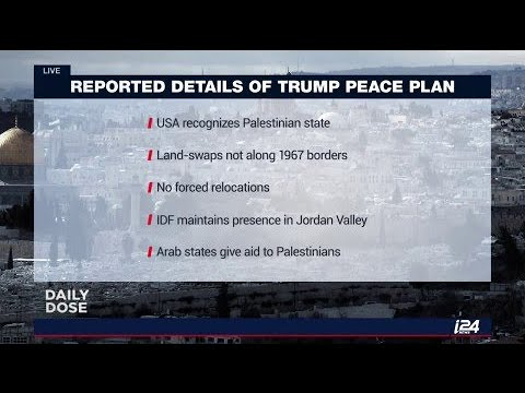 Israeli media reporting details of a Trump peace plan, while both countries are denying it.