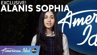 Alanis Sophia Shares Why She Felt Confident In Her Audition! - American Idol 2021