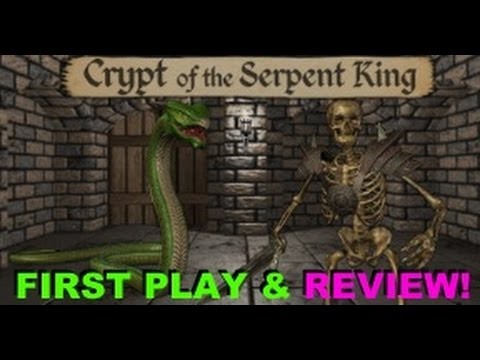 Crypt of the Serpent King - New $3 Dungeon Crawler on Steam! ..Is it worth your money? LiveStream!