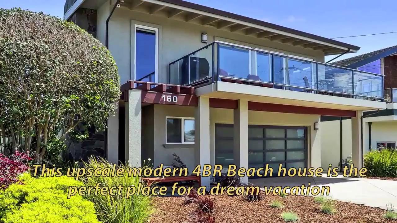 Ultra Luxurious 4br Santa Cruz Vacation Beach House With Oceanviews