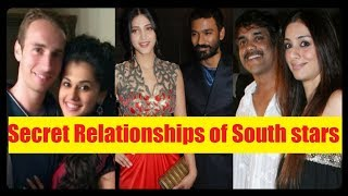 7 Secret Relationships of South Indian Stars That Surprised the World