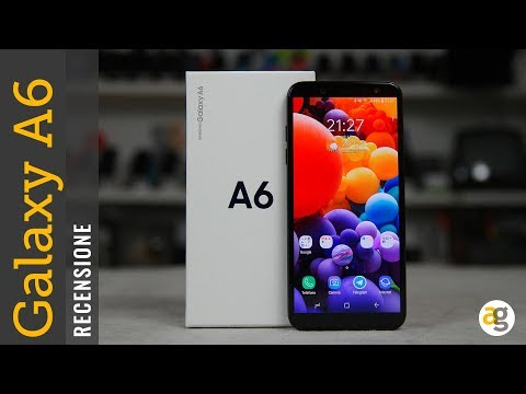 Recensione Samsung Galaxy A6