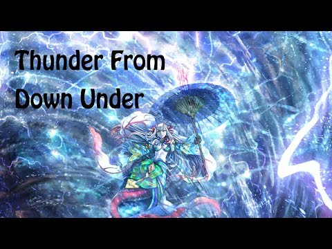 Force of Will Deck Tech | Kevin's Kreations: Thunder From Down Under