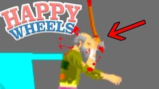 自分の頭に斧をぶっ刺すと吉 - Happy Wheels 実況プレイ - Part45 thumbnail