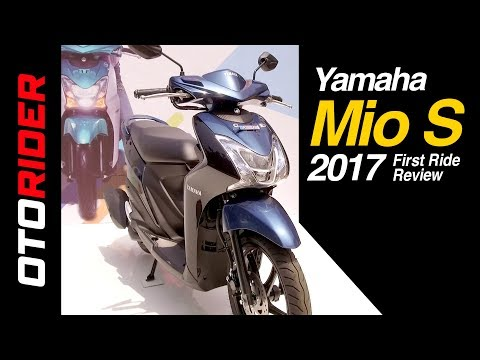 Yamaha Mio S 2017 First Ride Review Indonesia | OtoRider