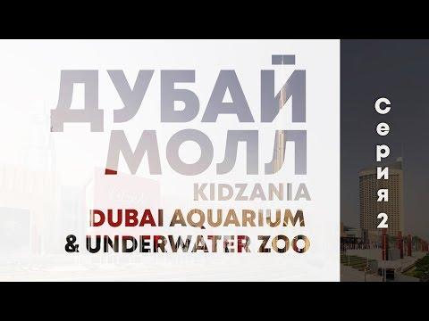Дубай Молл. Океанариум (Dubai Aquarium & Underwater Zoo). Кидзания(KidZania)
