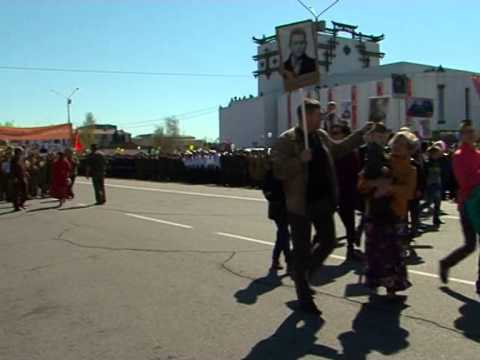 Парад Победы в столице Тувы