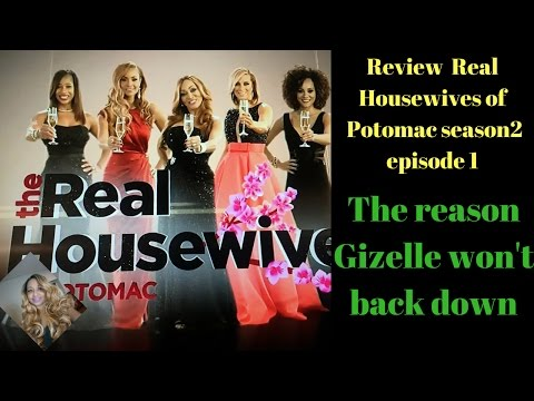 Review Housewives of Potomac season 2 episode 1 Recap The reason Gizelle won't back down