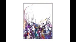 Priscilla Batzell's Fluid Acrylics, Weedy Spikey Spirally Fantasy Garden#4334-2.06.19