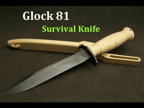Glock 81 Survival Knife Review