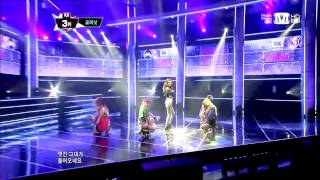 [130530] 4Minute (포미닛) - What's Your Name? (이름이 뭐예요?) @ MNet MCountdown