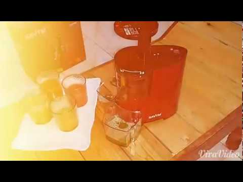 Slow Juicer Savtm : SAvTM Slow Juicer - YouTube