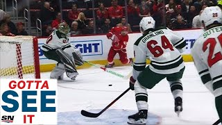 GOTTA SEE IT: Mikael Granlund Bails Out Devan Dubnyk With Goal Saving Defence