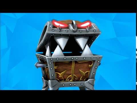 chomp chest extended skylanders trap team music youtube