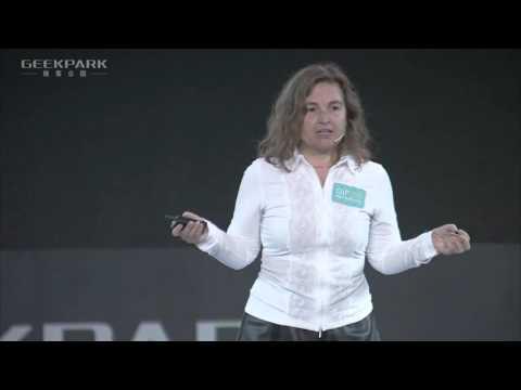 Professor Daniela Rus-Director of CSAIL at MIT speaking at GeekPark Innovation Festival 2016