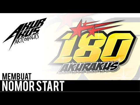 tutorial-corel-draw---design-nomor-start-racing-|-akurakus