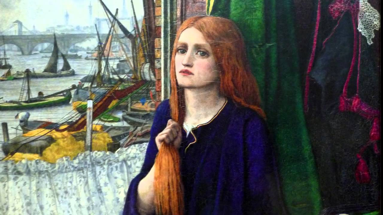 John Roddam Spencer Stanhope, Thoughts of the Past, exhibited 1859