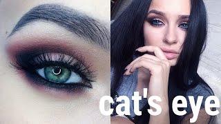 видео Делаем красивый макияж для зеленых глаз