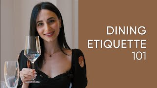 Dining Etiquette: how to master the basic table manners