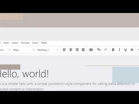 HTML Editor - Online Free WYSIWYG HTML Editor - HTMEditor.com
