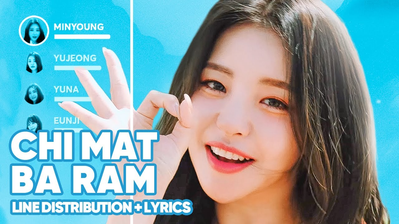 Brave Girls - Chi Mat Ba Ram (Line Distribution + Lyrics Color Coded) PATREON REQUESTED