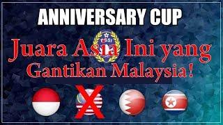 Resmi! Juara Asia ini ramaikan Anniversary Cup PSSI! + Jadwal Pertandingan