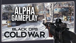 Impressões Iniciais - Call of Duty BLACK OPS COLD WAR | Gameplay da Alpha do Multiplayer no PS4 Pro