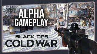 Impressões Iniciais - Call of Duty BLACK OPS COLD WAR | Gameplay da Alpha do Multiplayer no PS4 Pro