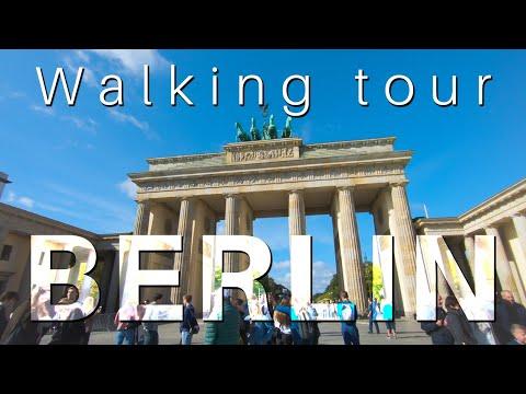 Berlin Walking tour 🇩🇪 [4K] (Mitte, Unter den Linden) Germany 2019