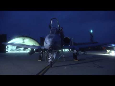 A-10 Thunderbolt II Fly to the Boneyard at Davis-Monthan AFB, Arizona for Retirement (HD)