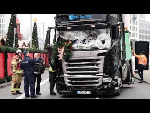 Berlin truck caught on dashcam