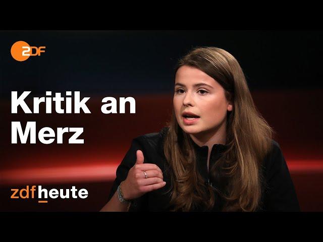 Luisa Neubauer kritisiert Friedrich Merz | Markus Lanz am 30.06.2020