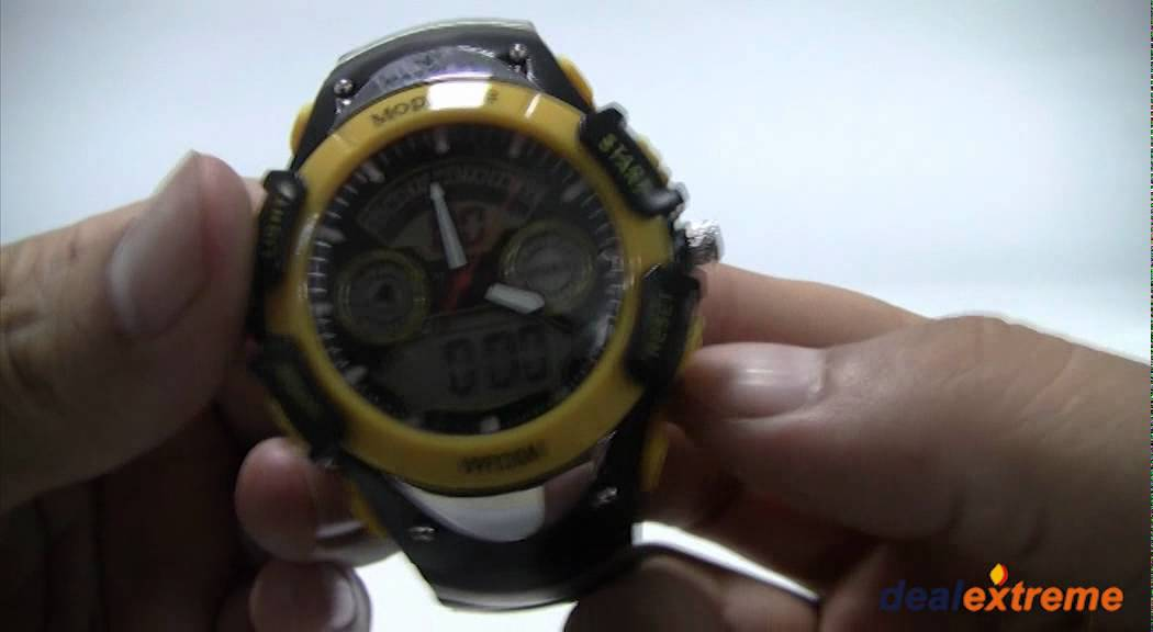 terner sport watch wr30m instructions