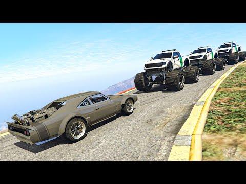 Эту машину не ОСТАНОВИТЬ! Погоня за Dodge Charger из Форсаж 8 в GTA 5 Online