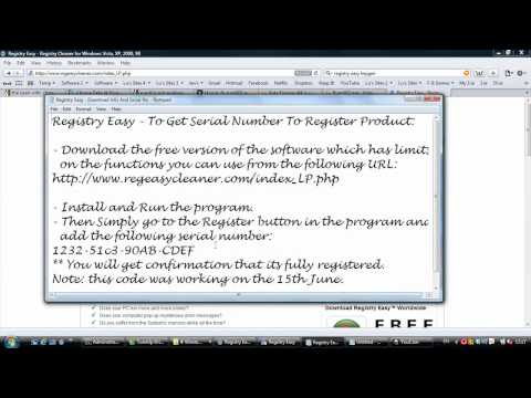 Registry Easy 5.6 Unlock Full Version With Serial Number