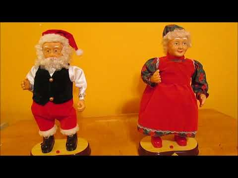 Gemmy - Interactive Claus Couple
